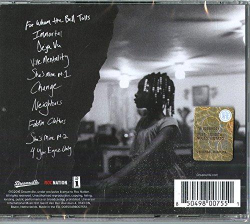 J Cole 4 Your Eyez Only Amazoncom Music