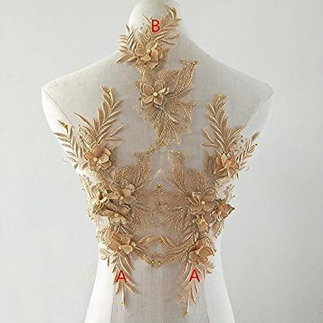 Lace embellishment pack sequined lace,Vintage lace Lace trim collection Beaded lace appliques Bridal Lace Dance trims Floral Applique