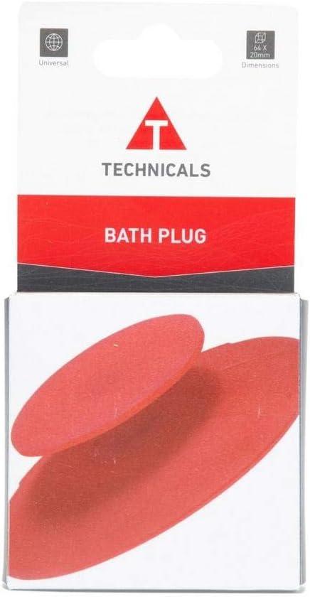 TECHNICALS Travel Bath Plug