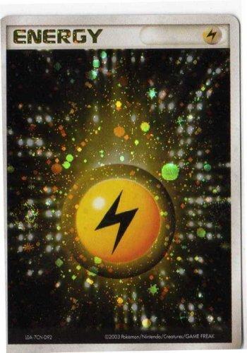 ポケモンカードゲーム sam_08ene03 雷エネルギー (特典付:限定スリーブ オレンジ、希少カード画像) 《ギフト》