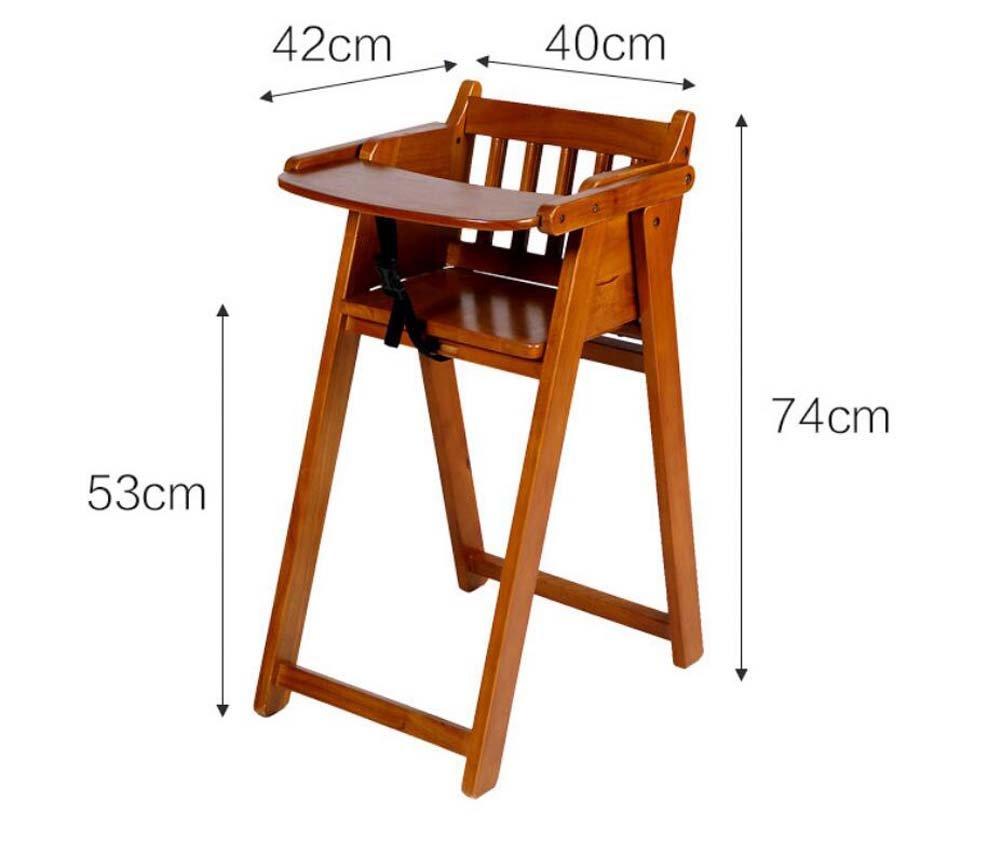 Amazon.com : TTrar Portable Folding Chair Solid Wood ...