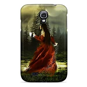 New TjRnTRM7915qrIpF Fantasy Girl 3 Skin Case Cover Shatterproof Case For Galaxy S4