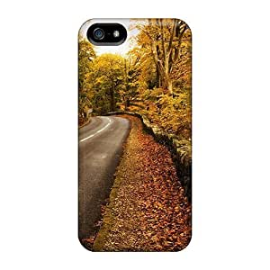 Ideal Grace's Favor For Iphone 6 Phone Case Cover (road Through A Forest In Autumn), Protective Stylish Case