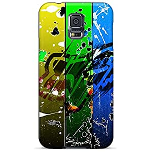 samsung galaxy s5 durable cell phone case colorful Sanp On fox racing abstract