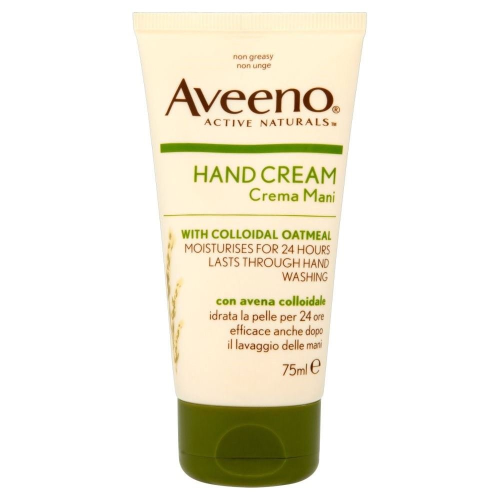 Aveeno Intensive Relief Hand Cream with Oatmeal (75ml) - Pack of 6