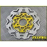 Area 22 Kawasaki Z125 Pro Front Disc GOLD