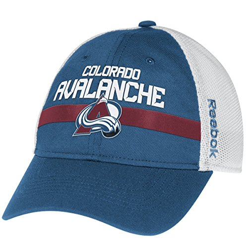 Colorado Avalanche Reebok NHL 2014 Center Ice Mesh Back Flex Fitted Hat