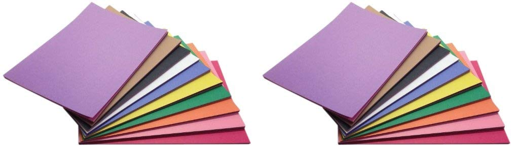 Childcraft Construction Paper, 9 x 12 Inches, Assorted Colors, 500 Sheets (Тwо Расk)