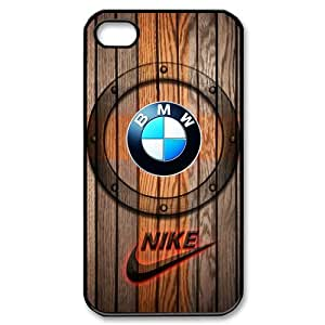 Most Popular BMW Logo And Nike Iphone 4 4S Cool Design Hard Case Cover by ruishername