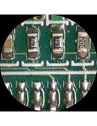 AmScope 7 x  45 X simul focal Stereo Lockable Zoom Microscopio en un solo brazo Boom soporte