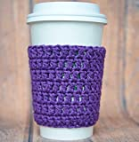 Hot Cup Sleeve Reusable Drink Coffee Cozy in 9 Colors