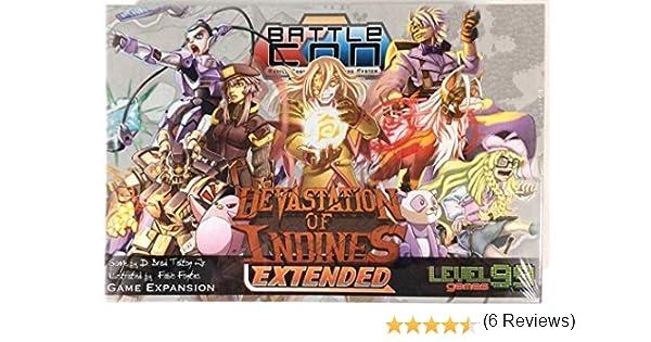 Level 99 Games BattleCON Devastation of Indines Extended - English: Amazon.es: Juguetes y juegos