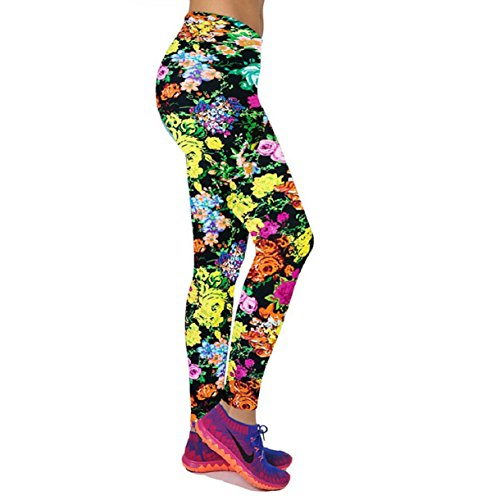 Lookatool Womens Fitness Printed Leggings