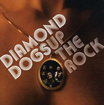 Diamond dogs up the rock