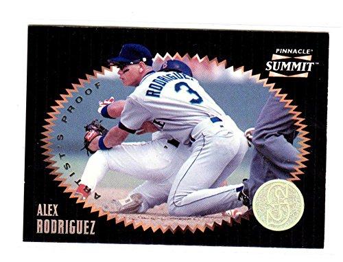 1996 Pinnacle Artists Proof Alex Rodriguez #84 EX (Proof Ex Set)