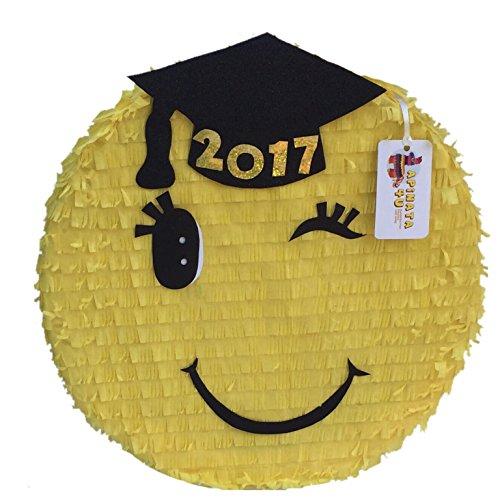 Congrats Grad Pinata Black (Graduation Pinata)