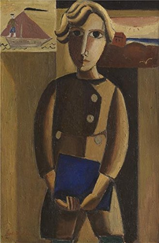 'Gustave De Smet - Pally, 1922' Oil Painting, 16x24 Inch / 41x62 Cm ,printed On Perfect Effect Canvas ,this High Definition Art Decorative Prints On Canvas Is Perfectly Suitalbe For Bathroom Artwork And Home Artwork And Gifts