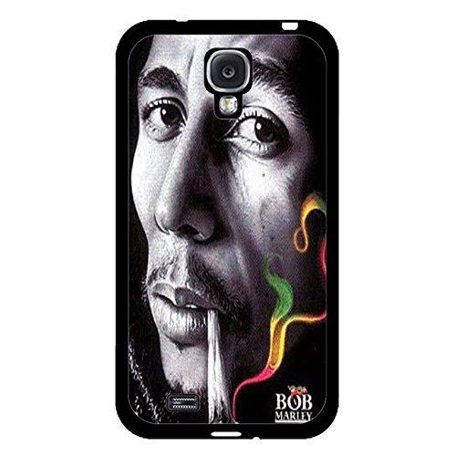 Samsung Galaxy S4 I9500 Cover Shell Classical Bright Smoking Design Reggae Music Bob Marley Wailing Wailers Phone Case Cover Originator Singer Personalized