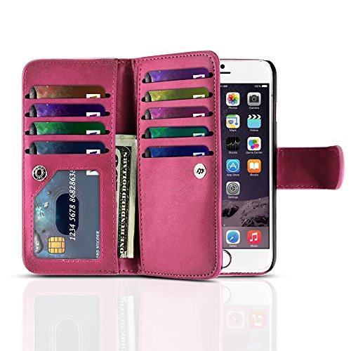 tnp-iphone-6s-plus-wallet-case-hot-pink-flip-synthetic-leather-wallet-pocket-case-2-in-1-magnetic-de