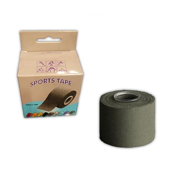 Cinta Sport Tape Sujeta-Espinilleras 10mx4cm amarillo: Amazon.es: Deportes y aire libre