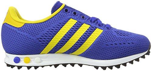 adidas La Trainer Em - Zapatillas Unisex adulto Blau (BOLD Blue/Eqt Yellow/Ftwr White)
