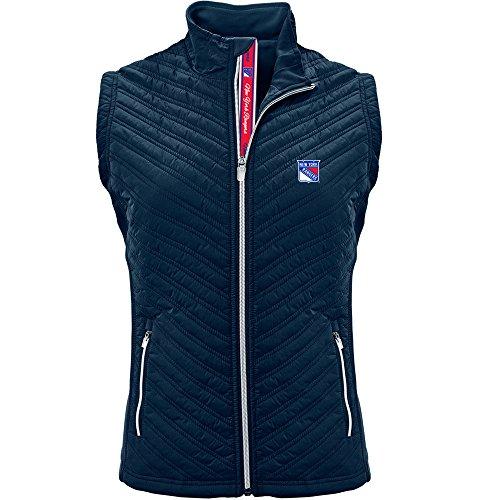 (Levelwear NHL Women's Transition New York Rangers Hockey Team Script Vest, Navy - Small)