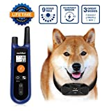 Training Dog Collar - [Upgraded] Remote Dog Training Collar, multifun Fool Operation Shock Collar for Dogs - Up to 9 Dogs, 330Yards Range Bark Collar with Beep Vibration and Shock Mode - for All Size Dogs