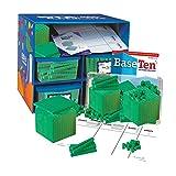 ETA hand2mind Green Foam Base Ten Blocks, Class Set