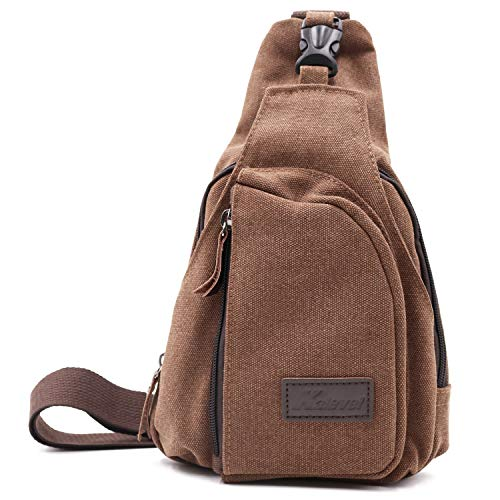 Kalevel Outdoor Sports Travel Crossbody Backpack Casual Shoulder Chest Bag (Best Bag To Avoid Pickpockets)