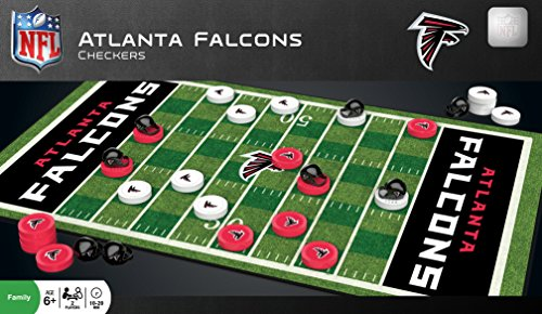 MasterPieces NFL Atlanta Falcons Checkers Game ()