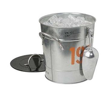 amazon com harley davidson 1903 ice bucket 3 5 qt kitchen dining rh amazon com harley davidson bucket stool harley davidson bucket seats
