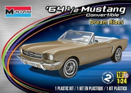 Revell Monogram '64-1/2 Mustang Convertible Plastic Model Kit (Mustang Convertible Model)