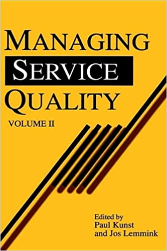 Buy Managing Service Quality: 2 (Quality Management in
