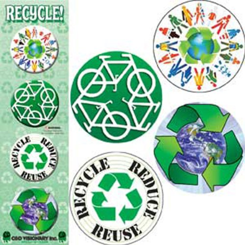 Licenses Products Recycle Assorted Artworks 1.25