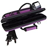 Protec Flute (B and C Foot) Slimline PRO PAC Case, Purple