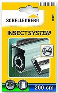 Schellenberg 50844 - Junta con cerdas (2 m, adhesiva)