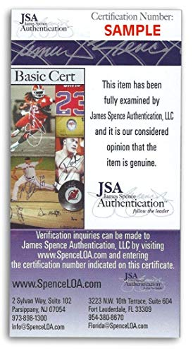 Mike Ditka Autographed Signed Personal Check Chicago Bears #1526 JSA Authentic U90321