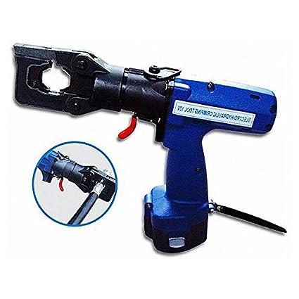 Alicates Kohstar Batería recargable inalámbrica funciona con presión de trabajo eléctrico hidráulico crimpadora HC-185