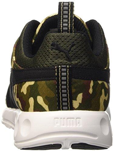 Puma Carson Runner Army Camo Men's Trainers Sneaker fitness 188921 01, Vert - vert, 44