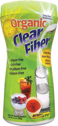 Effacer fibre organique 9,5 oz Pwdr
