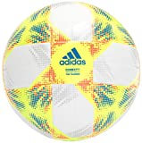 adidas Conext19 Top Training Soccer Ball White/Solar Yellow/Solar Red/Football Blue Bottom: Silver Metallic 5