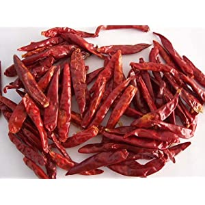 Chinese Whole Dried Red Chile 4 Oz. by TastePadThai