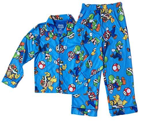 (Super Mario Brothers Boys Coat Pajama Set (6/7))