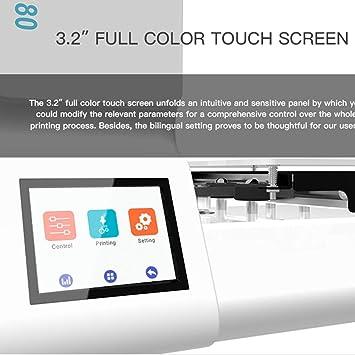 kingromargo Impresora E180 WiFi 3.2inch a Todo Color de Alta ...
