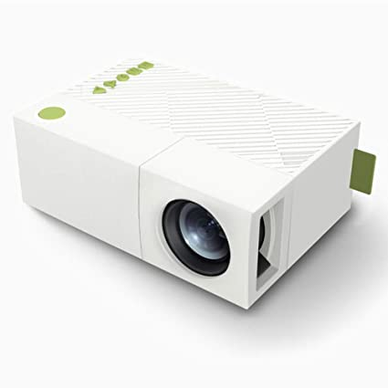 Mini Proyector Pico, HLDC HD portátil de casa 1080 Proyector LED ...