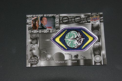 """2015 Upper Deck Joss Whedon's Firefly The Verse V Show Trading Cards Patch Card F-29 """"Alliance Lieutenant"""""""