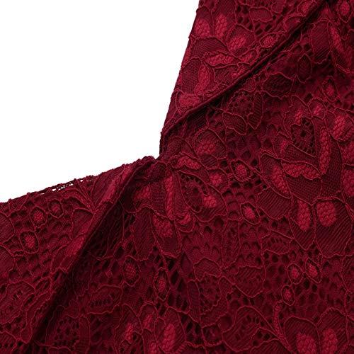Blu 16 Da Formale Audburn Cocktail Donna Principessa Cerimonia Abiti Vestito Partito Eleganti Festa Vestiti Sera Vintage Estivi Carnevale BqwTaqCn