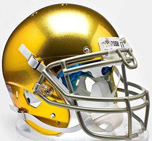 Schutt Sports NCAA Notre Dame Fighting Irish Replica Football Helmet, ALT 5