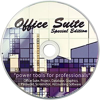 Amazon com: Office Suite Special Edition CD - Compatible with