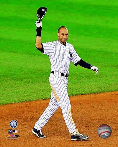 Derek Jeter Final Game at Yankee Stadium Photo Size: 12.5 x 15.5 Framed